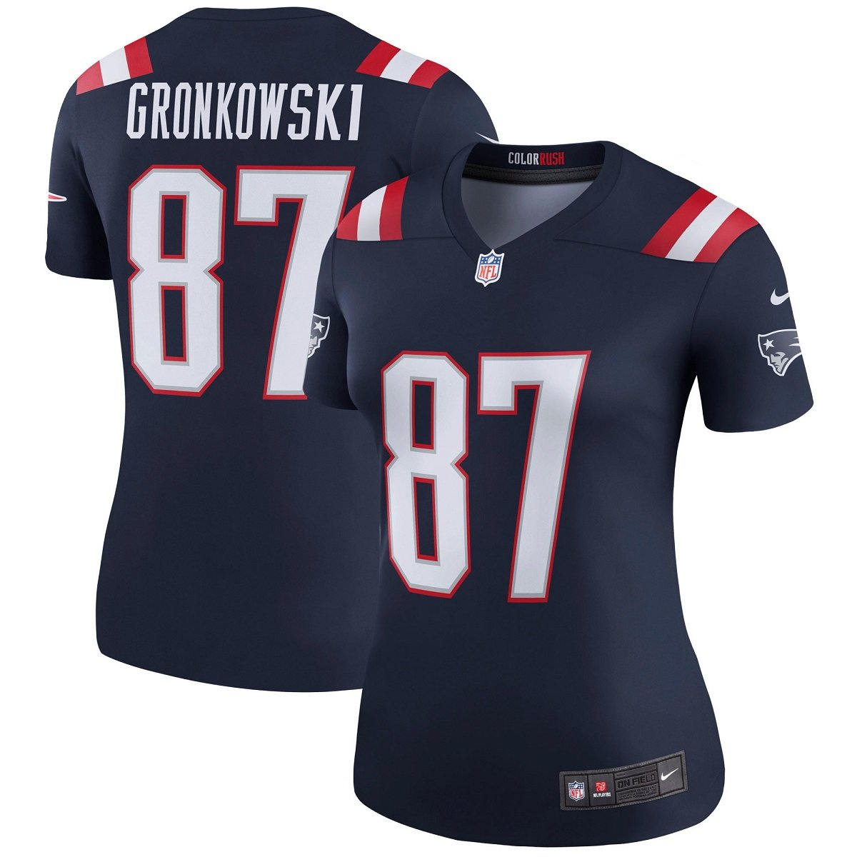 5ee9924d197 Amazon.com   Nike Women s New England Patriots Rob Gronkowski  87 Color  Rush Legend Football Jersey Navy Red White 845815-422 (XX-Large)   Sports    Outdoors