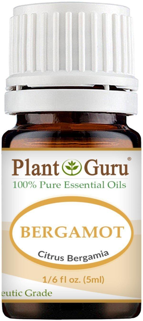 Bergamot Essential Oil. 5 ml. 100% Pure, Undiluted, Therapeutic Grade. Sample Size by Plant Guru   B011KP3DY8