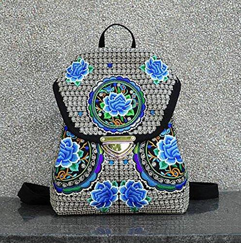 La flor del hombro Bolso bordado / Mujer Paquete simple ocio ( Color : 13# ) 6#