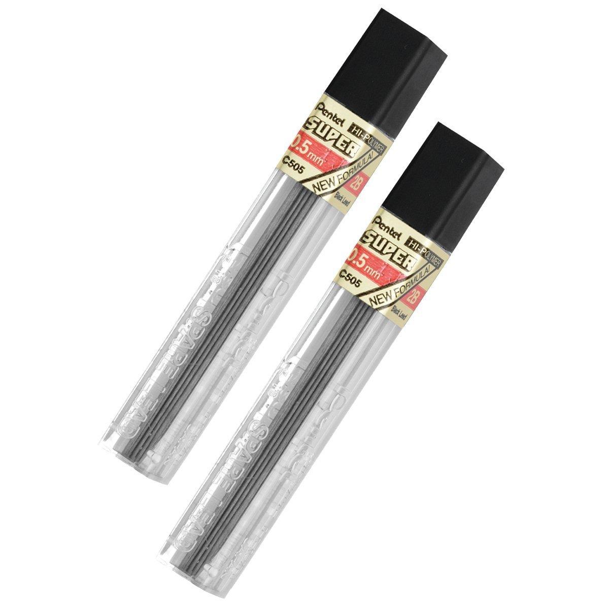 Pentel 24 Minas (2 Tubos) 0.5mm 2B