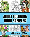#9: Adult Coloring Book Sampler: Coloring Books For Adults: Fan Favorites Huge Variety Selection