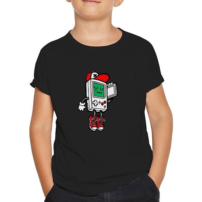 OKAPY Camiseta Gameboy Rap. Una Camiseta de Niño con Una Gameboy Clásica  rapera. Camiseta Friki de Color Negra  Amazon.es  Ropa y accesorios bdd70d57b42