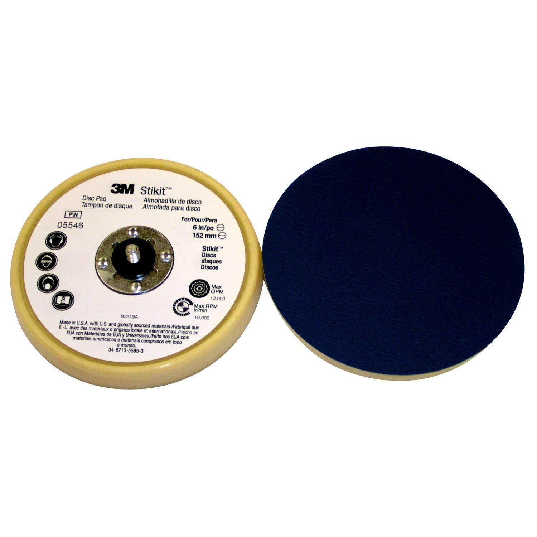 5//16-24 External Thread 5 Diameter x 11//16 Thick TM TM Attachment PSA Beige Low Profile Finishing Disc Pad 05545 3M Stikit Pressure-Sensitive Adhesive Pack of 10