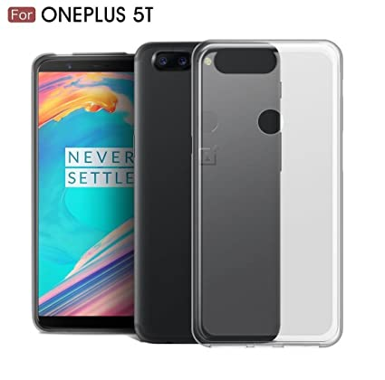 competitive price 0b487 41e6e ONEPLUS 5T\LOFAD CASE TRANSPARENT BACK COVER FOR: Amazon.in: Electronics