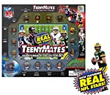 "TeenyMates 1"" NFL Collectible Figures Player Quarterback Gift Set"