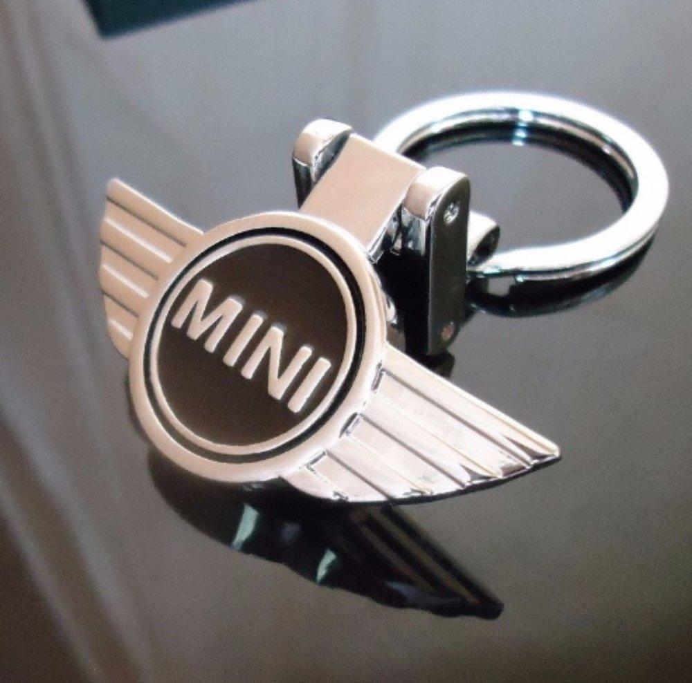 Llavero con el logo Mini Cooper (doble cara, cromado ...