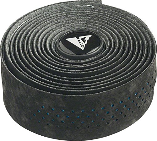 Profile Design Perforated Road Bicycle Handlebar Tape (Black/Electric Blue)