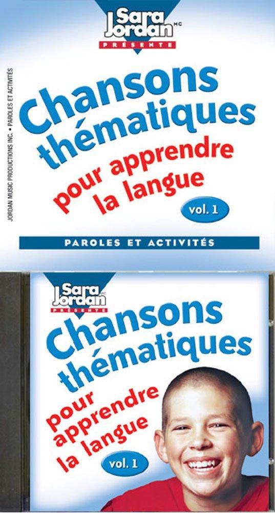 Download Chansons thematiques pour apprendre la langue (CD with Book) (French Edition) pdf epub