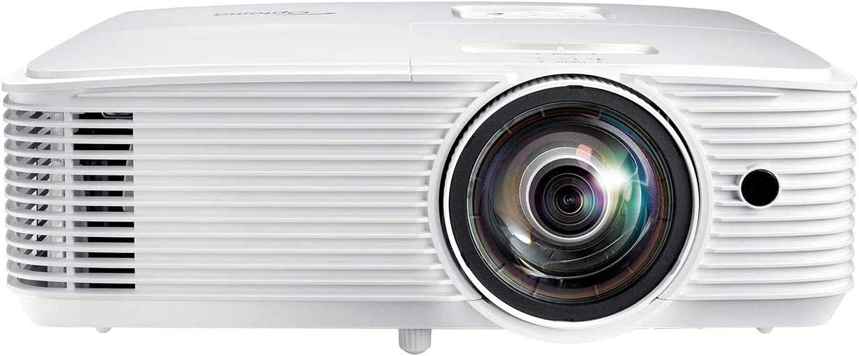 Optoma GT770 Short Throw Projector for Gaming & Movies | HD Ready 720p + 1080p Support | Bright 3600 Lumens for Lights-on Viewing | 3D-Compatible | Speaker Built in
