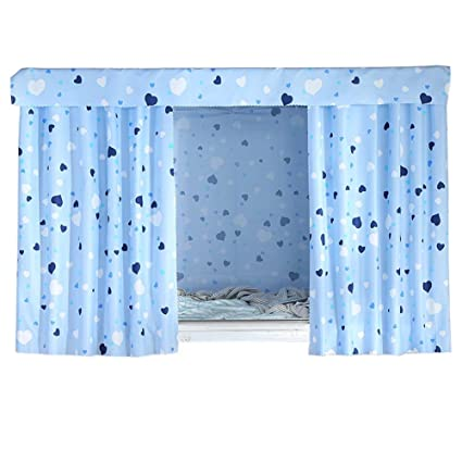 FANCY PUMPKIN Simple Dormitory Bunk Bed Curtains Dustproof Bedroom Curtains  Shading Cloth, C 18