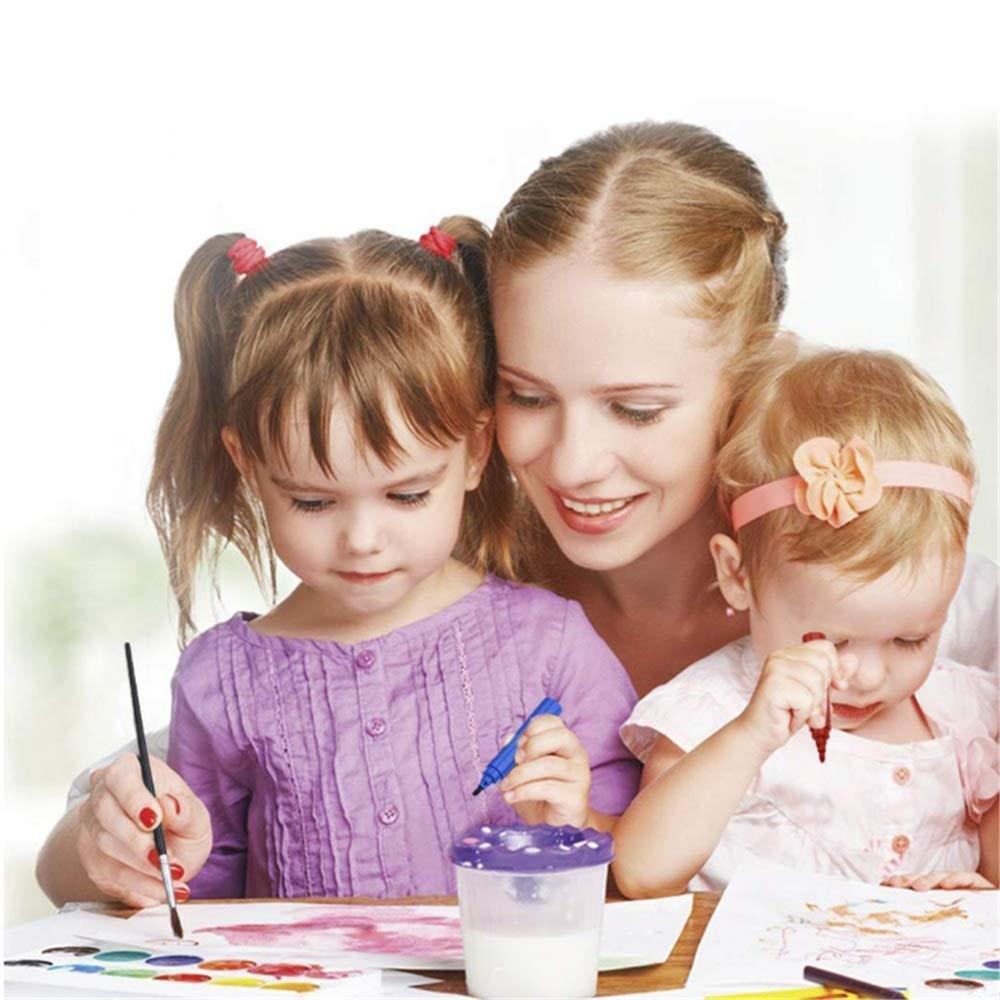 JIANGXIUQIN Artist Art Drawing Set, Watercolor Brush 258pcs Brush Pencils Set Water Color Pens with Flexible Nylon Brush Tips for Watercolor Painting Gifts for Children and Children. (Color : Color) by JIANGXIUQIN (Image #8)