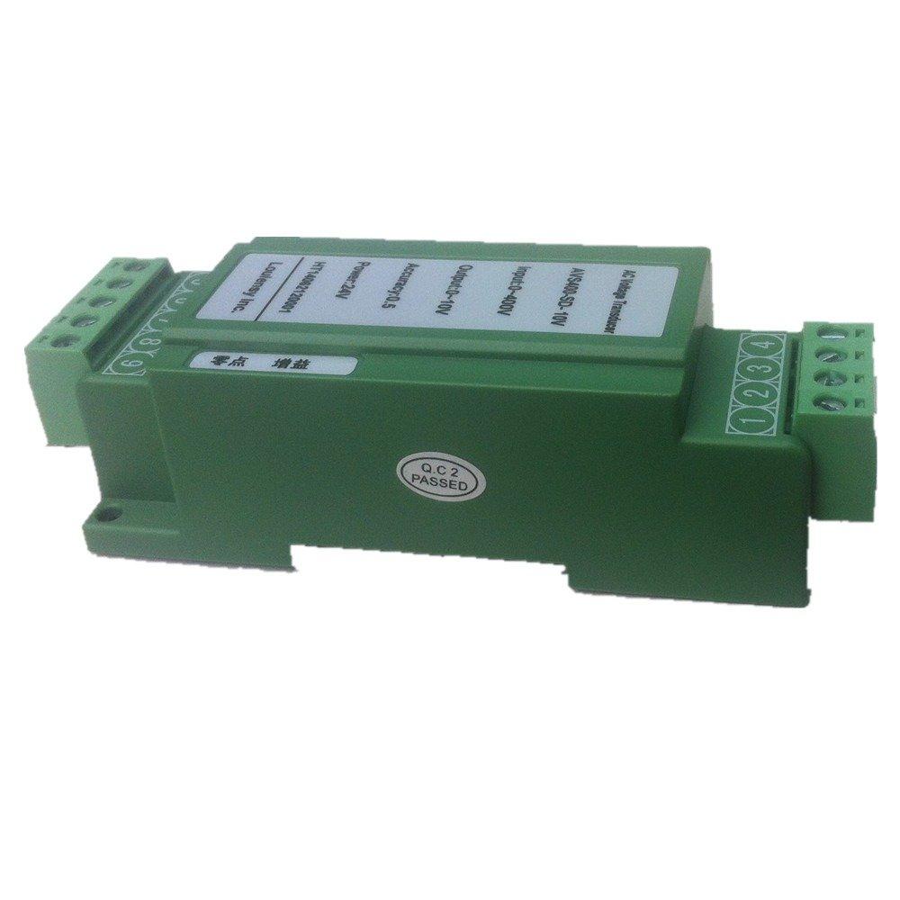 DC Voltage Transducer Voltage Sensor Transmitter Transformer Transmitter Transformer Input 0-450V DC Output 0-10V DC