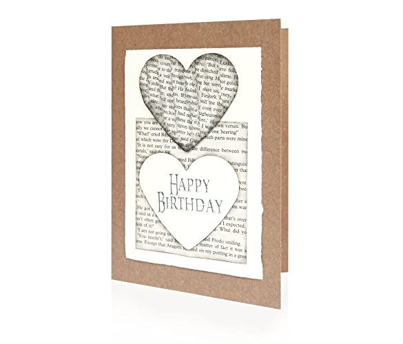 Amazoncom Lord of the Rings Handmade Birthday Card 5 x 7 inch