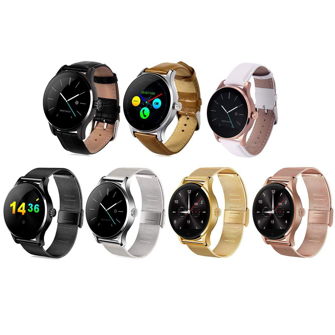 K88H Smart Watch Tracker Bluetooth Reloj de Pulsera Monitor ...