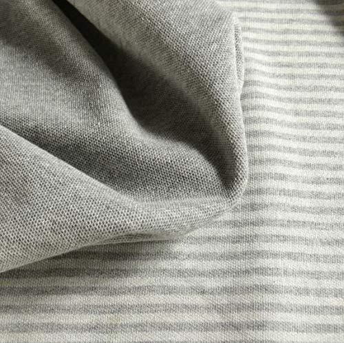 Didymos Babytragetuch Jersey Doubleface Ringel Silber Gr.6