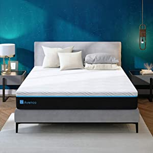 King Mattress, Avenco King Size Memory Foam Mattress in a Box