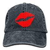 Sexy Lips Adult Cowboy Hat Baseball Cap Adjustable Athletic Make Custom Cool Hat for Men and Women