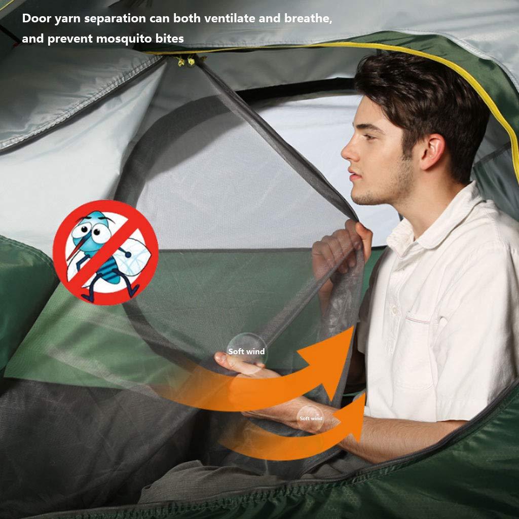 HAOHAOWU Outdoor-Zelt, 3-4 Personen Pneumatische Automatische Verdickungszelt Atmungsaktiv Wild Camping Family Wasserdicht und Atmungsaktiv Verdickungszelt a6ebd6