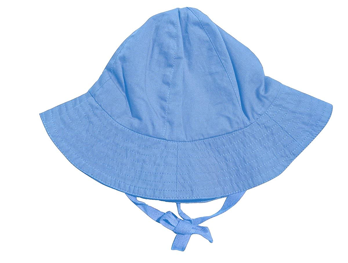 Wide Brim Lukeeno Organic Cotton Baby Boy Girl Sun Hat