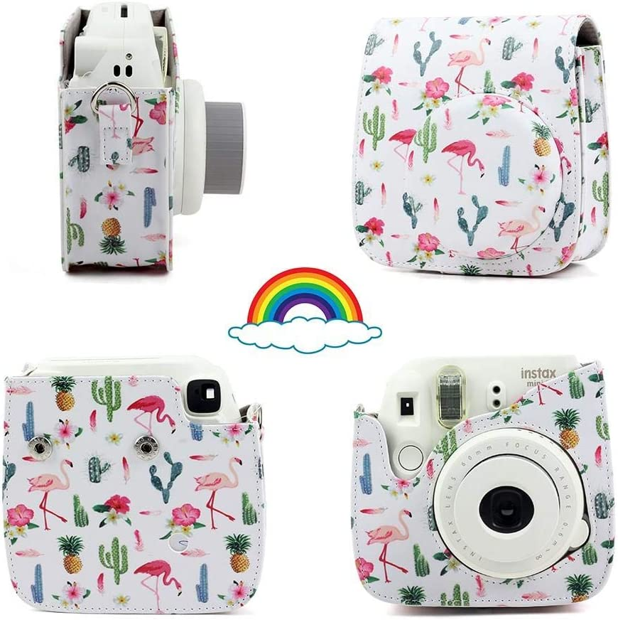 Mini Instant Photo Camera PU Leather Case