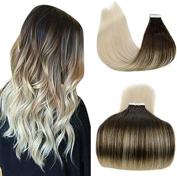 extension grigie capelli veri