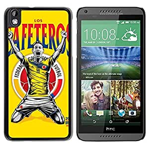 Worldcup Columbia Durable High Quality HTC Desire 816 Phone Case