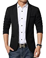 Moin Costume Manteau Casual Men Slim Cotton Blazer coréenne Casual Jacket boutons One Fashion Style