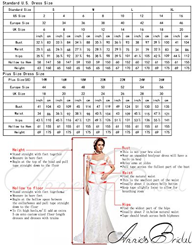 Mermaid Prom Rhinestone Custom Bridal Gowns Annie's Women's Dress Long Formal Evening xwUqgAqO