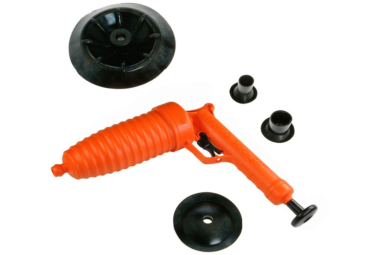 Strumenti Red Pango tubo Cleaner 3000 con adattatore WC, come veduto sulla pubblicità televisiva, RT50001 come veduto sulla pubblicità televisiva Red Tools