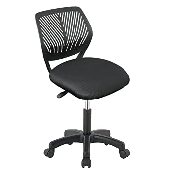 IntimaTe WM Heart Desk Chair/Study Chair Low Back Swivel Office Home School  Task Chair