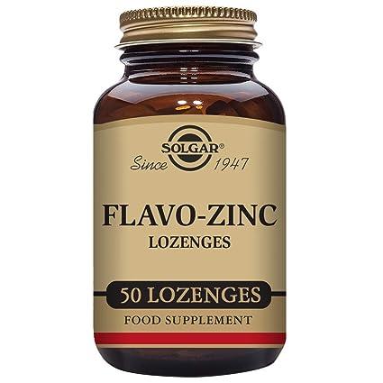 Solgar Flavo-Zinc Comprimidos masticables - Envase de 50: Amazon.es ...
