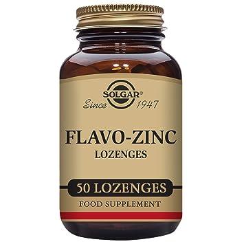 Amazon Com Solgar Flavo Zinc Lozenges 50 Count Health Personal Care