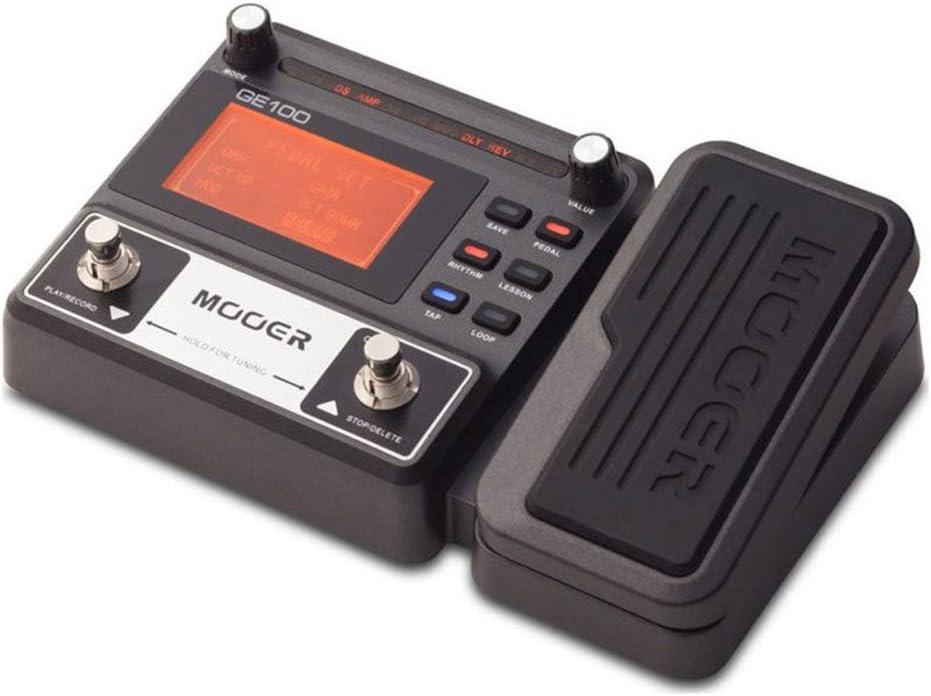 Mooer Ge100 Procesador Multi-Efectos Para Guitarra: Amazon.es ...