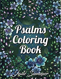 Psalms Coloring Book An Inspirational Adult With Fun Easy And Relaxing