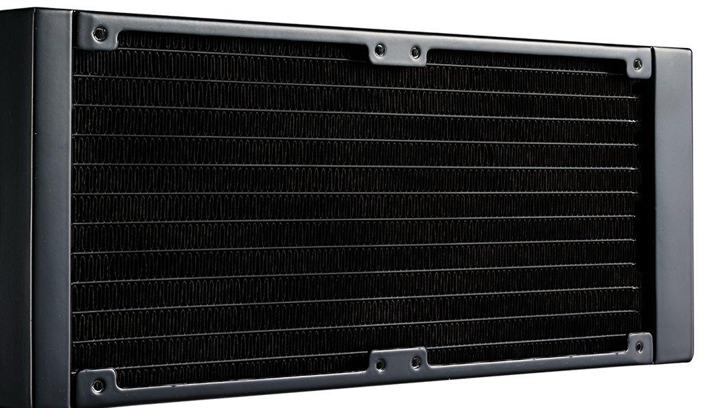 Cooler Master MasterLiquid Lite 240 Liquid CPU Cooler 240mm Radiator, 2 x MasterFan Air Balance 120 Fans, Dual-Chamber Pump MLW-D24M-A20PW-R1 by Cooler Master (Image #5)