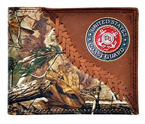 Custom Montana United States Coast Guard Realtree AP Camo Wallet (Coast Guard Boots)