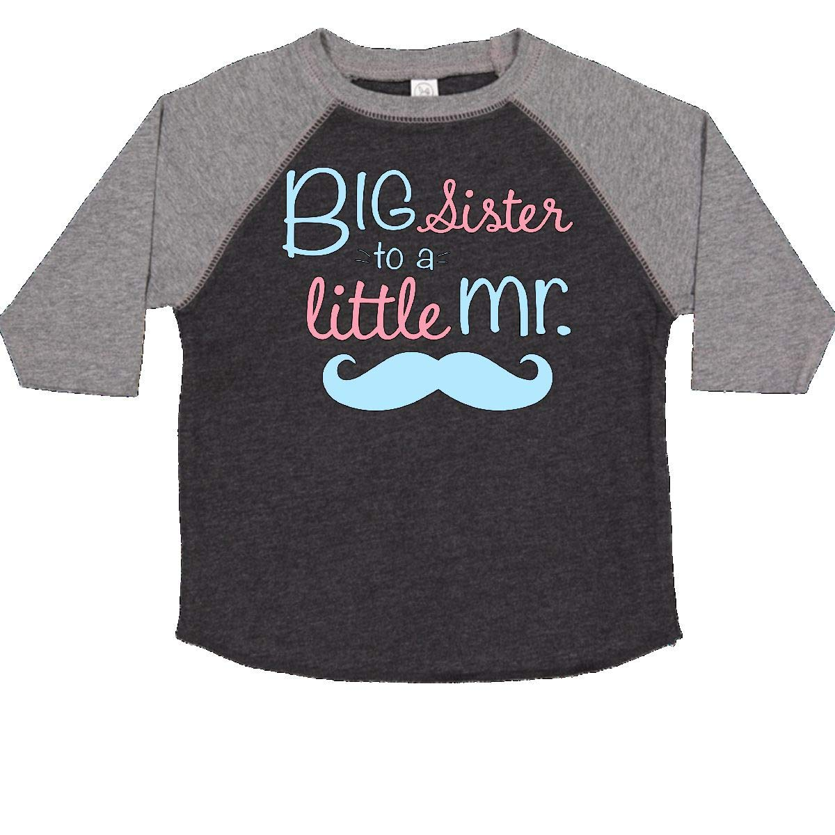 inktastic Big Sister to a Little Mr Toddler T-Shirt
