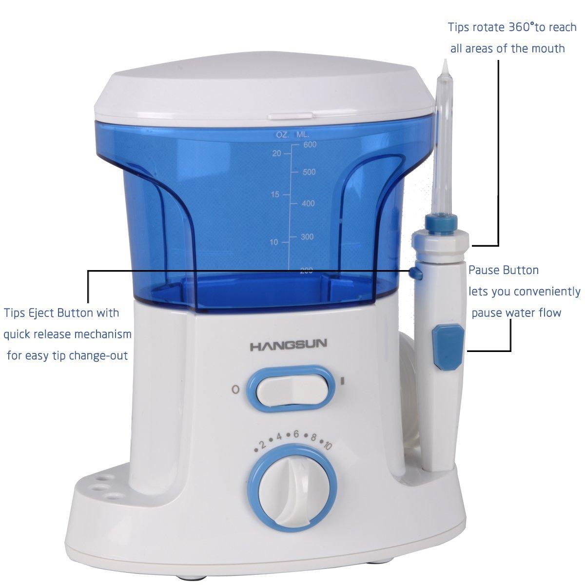 Limpiador Bucal HOC-200 Waterjet Dentacare de Hangsun por solo 49,99€