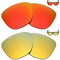 2 pares de lentes polarizadas de substituição da Mryok para óculos de sol Oakley Frogskins – Opções