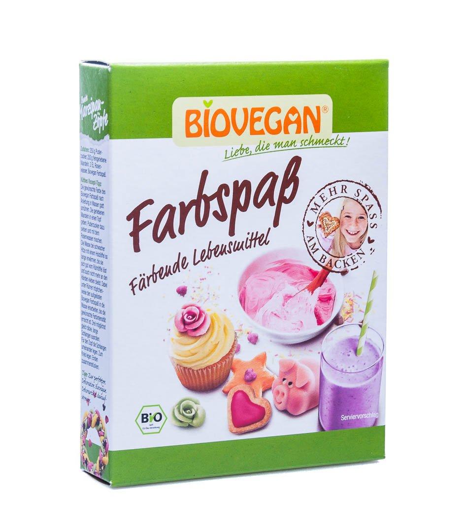 Biovegan Bio Farbspaß (1 x 40 gr): Amazon.de: Lebensmittel & Getränke