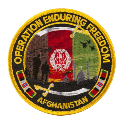 War Patches - Operation Enduring Freedom OSFM