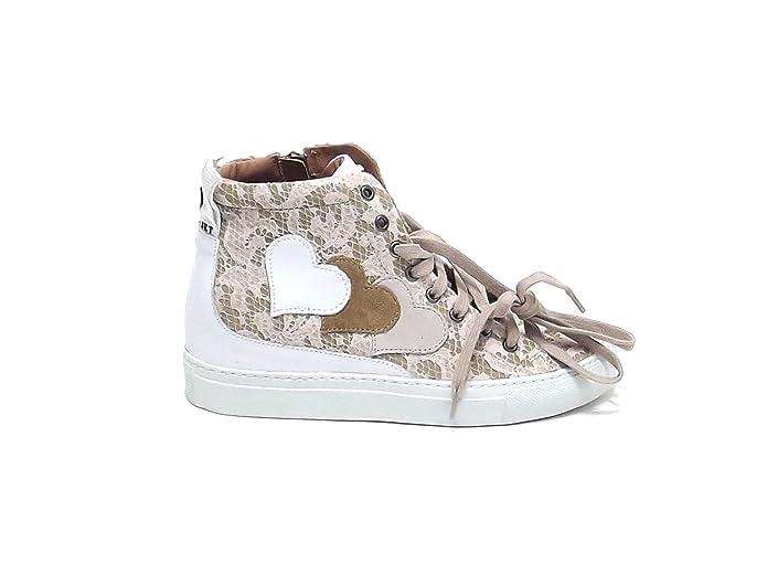Set In Twin Cs6phh Alto Modello Scarpa Collo Pelle Sneakers Donna PqwT46 683e40015fa4
