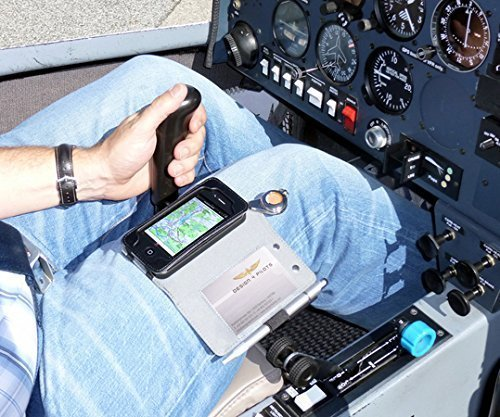 High End Aviation Pilot Leather Kneeboard for Iphone6TM & Iphone6TM Plus