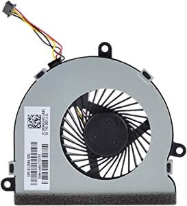 Eathtek Replacement CPU Cooling Fan for HP 15-ay 15-ay009dx 15-ay013cy 15-ay013dx 15-ay014cy 15-ay021ds Series, Compatible Part Number 813946-001 DC28000GAR0