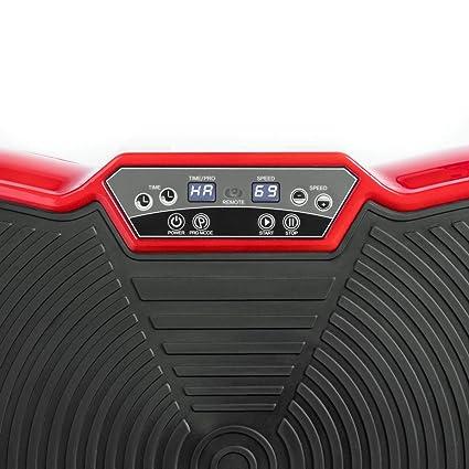 Fitfiu VB400R PV-100 - Plataforma vibratoria, Unisex Adulto, Rojo, Única: Amazon.es: Deportes y aire libre