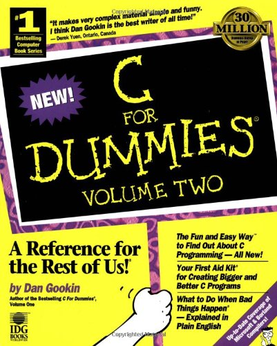 C For Dummies (For Dummies (Computers))