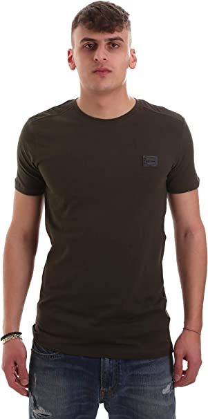 Image of Antony Morato T Shirt Sport Girocollo con Placchetta Camiseta para Hombre