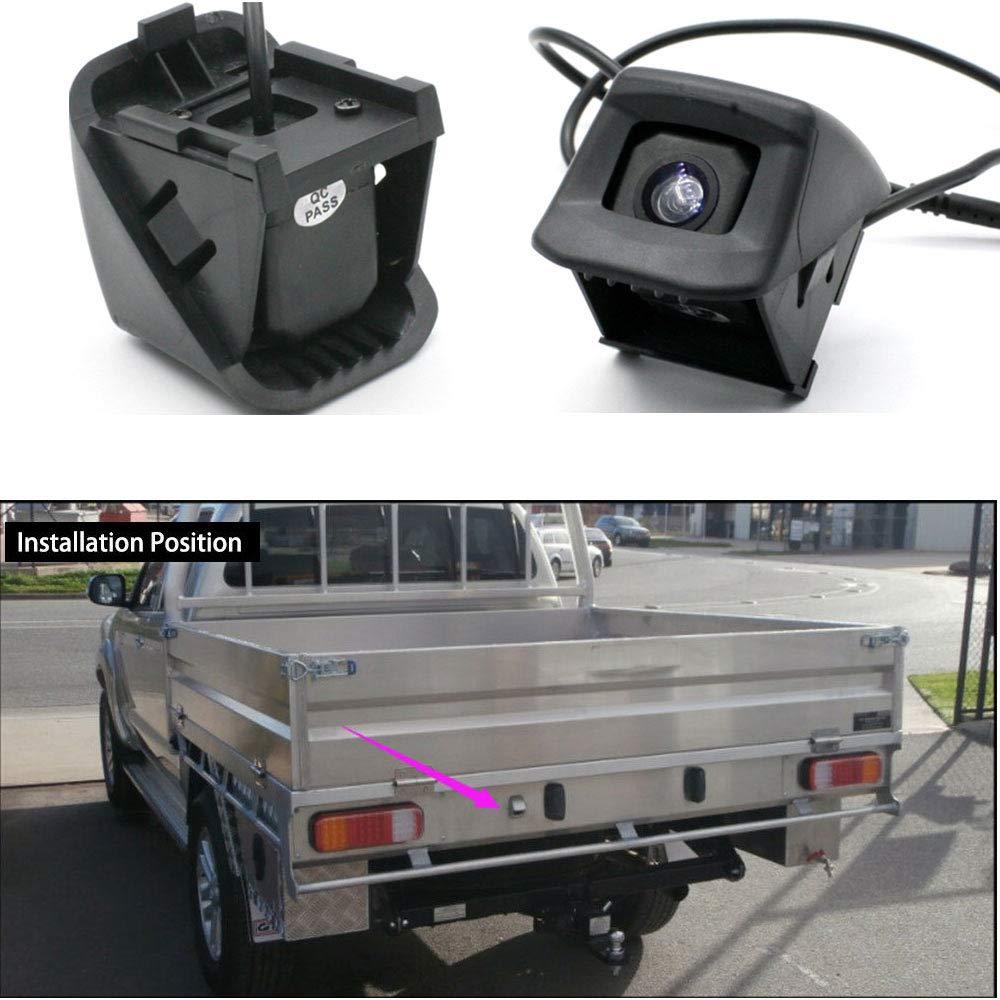 Super HD CCD Sensor 170 Gran Angular Visi/ón Nocturna Vista Posterior C/ámara de Marcha atr/ás para Toyota Hilux AN10 AN20 AN30 2004-2015//Toyota Hilux AN120 AN130 2015-2017