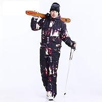 HUXIZ Ski Suit Magic Blue Impermeable Snowboard