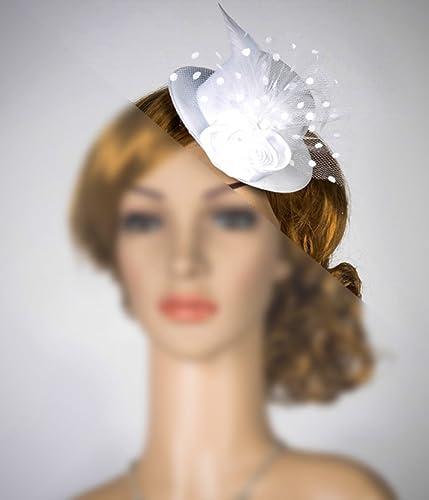 Amazon.com  Rose Mini Top Hat Fascinator 41ce44e5886